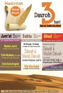 Info Dauroh